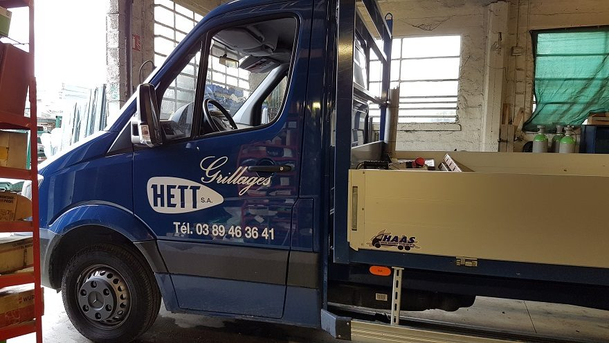Décoration camionnette